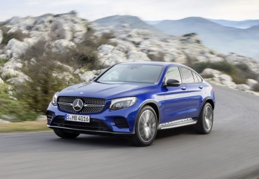 Mercedes-Benz GLC 250 Coupe 4Matic 9G-TRONIC (seit 2016) Front + links
