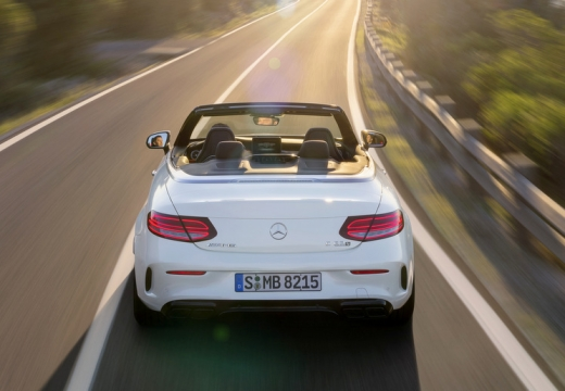 Mercedes-Benz AMG C 63 Cabrio AMG Speedshift 7G-MCT (seit 2016) Heck