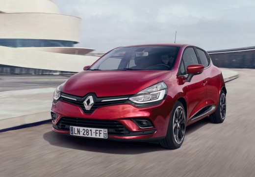 Renault Clio 1.2 16V 75 (seit 2016) Front + links