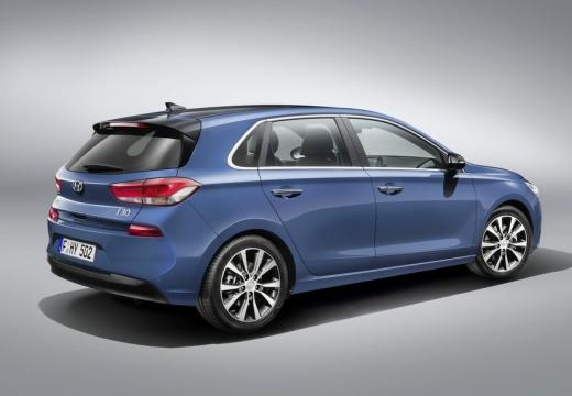 Hyundai i30 1.0 T-GDI (2016-2016) Heck + rechts