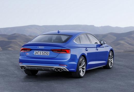 Audi S5 Sportback 3.0 TFSI quattro tiptronic (seit 2016) Heck + rechts