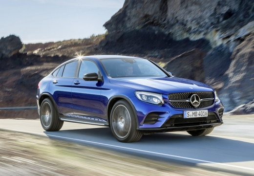 Mercedes-Benz GLC 250 Coupe 4Matic 9G-TRONIC (seit 2016) Front + rechts