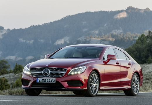 Mercedes-Benz CLS 400 7G-TRONIC (2014-2014) Front + links