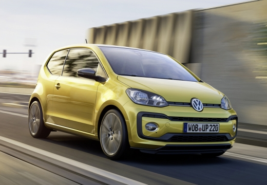 VW up! TSI BlueMotion Technology (seit 2016) Front + rechts