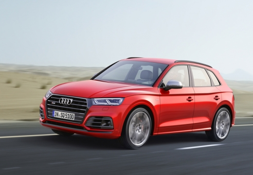 Audi SQ5 3.0 TFSI quattro tiptronic (2017-2017) Front + links