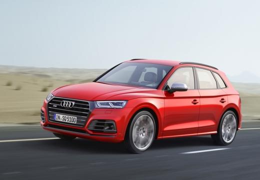 Audi SQ5 3.0 TFSI quattro tiptronic (2017-2017) Front + links