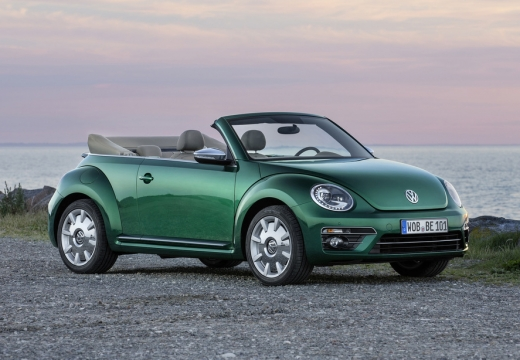 VW The Beetle Cabriolet 1.2 TSI BlueMotion Technology (seit 2016) Front + rechts