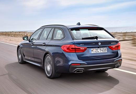 BMW 530i Touring Aut. (seit 2017) Heck + links