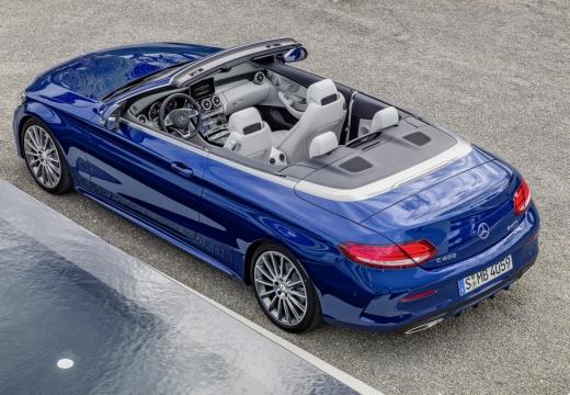 Mercedes-Benz C 180 Cabrio (seit 2016) Aufsicht Heck