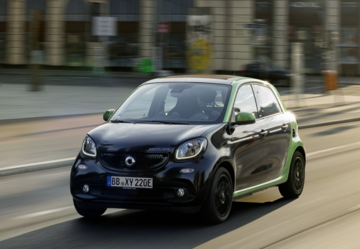 Smart smart forfour electric drive (seit 2017) Front + links