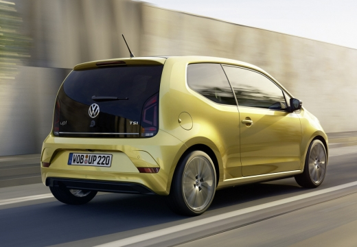 VW up! TSI BlueMotion Technology (seit 2016) Heck + rechts