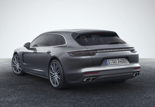 Porsche Panamera 4 Sport Turismo (2017-2017) Heck + rechts
