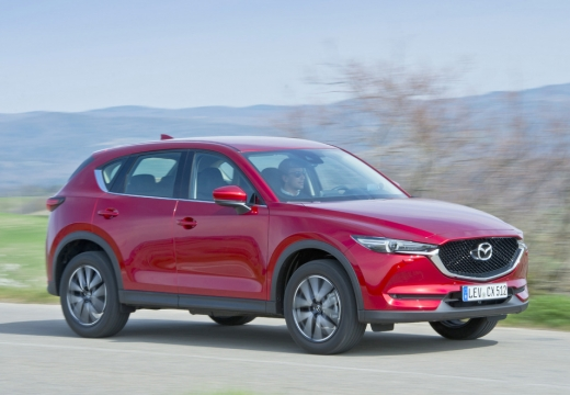 Mazda CX-5 SKYACTIV-G 160 AWD (seit 2017) Front + rechts