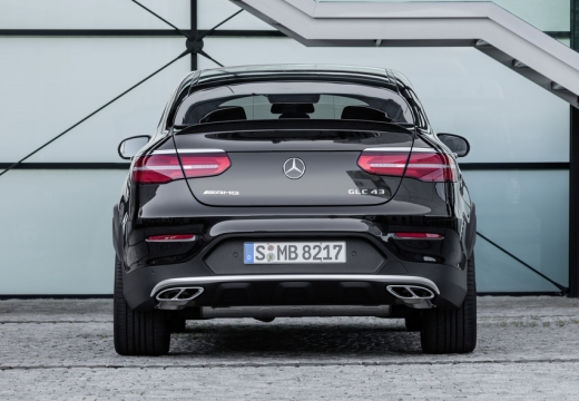 Mercedes-Benz AMG GLC Coupe 43 4Matic 9G-TRONIC (2016-2016) Heck