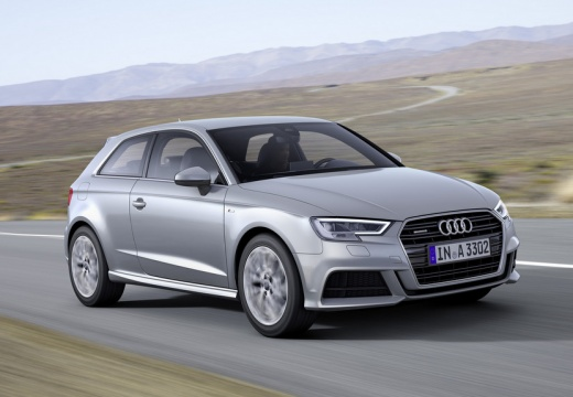 Audi A3 1.0 TFSI (seit 2016) Front + rechts