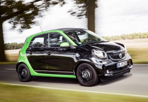 Smart smart forfour electric drive (seit 2017) Front + rechts