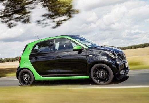 Smart smart forfour electric drive (seit 2017) Seite rechts