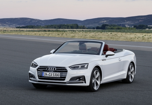 Audi A5 Cabrio 2.0 TFSI quattro S tronic (2016-2017) Front + links