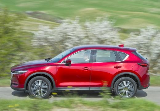 Mazda CX-5 SKYACTIV-G 160 AWD (seit 2017) Seite links