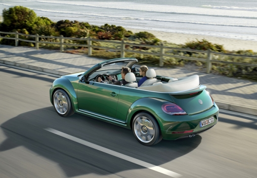 VW The Beetle Cabriolet 1.2 TSI BlueMotion Technology (seit 2016) Heck + links