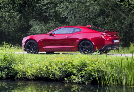 Chevrolet Camaro Coupe 2.0 Aut. (2016-2016) Heck + links