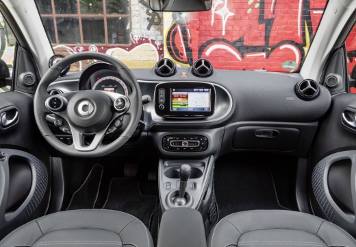 Smart smart fortwo coupe electric drive (seit 2017) Armaturenbrett