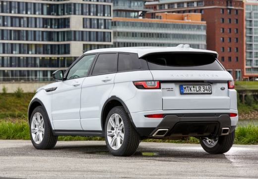 Land Rover Range Rover Evoque Si4 (seit 2015) Heck + links