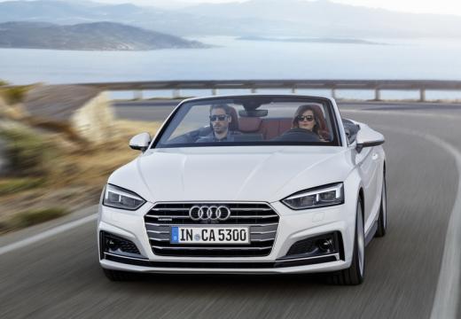 Audi A5 Cabrio 2.0 TFSI quattro S tronic (2016-2017) Front