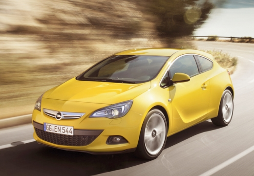 Opel Astra 1.4 (2009-2013) Front + links