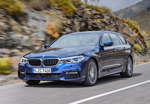 BMW 530i Touring Aut Seit 2017 Front Links