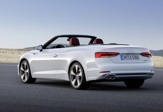 Audi A5 Cabrio 2.0 TFSI quattro S tronic (2016-2017) Heck + links