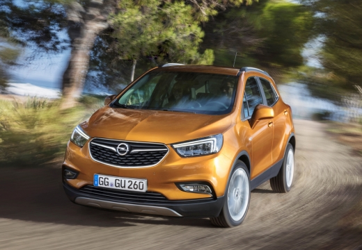 Opel Mokka X 1.6 ecoFLEX Start/Stop (seit 2016) Front + links