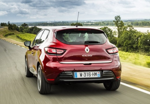 Renault Clio 1.2 16V 75 (seit 2016) Heck + links