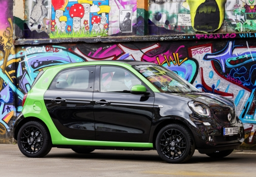 Smart smart forfour electric drive (seit 2017) Front