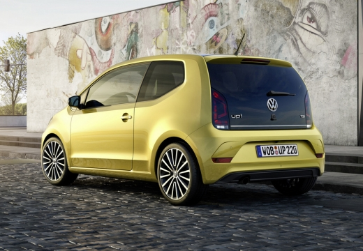 VW up! TSI BlueMotion Technology (seit 2016) Heck + links
