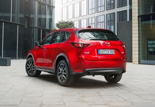 Mazda CX-5 SKYACTIV-G 160 AWD (seit 2017) Heck + links