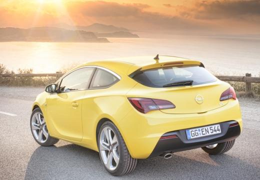 Opel Astra 1.4 (2009-2013) Heck + rechts