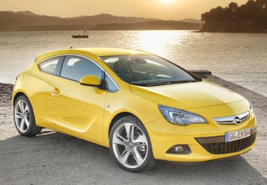 Opel Astra 1.4 (2009-2013) Front + rechts