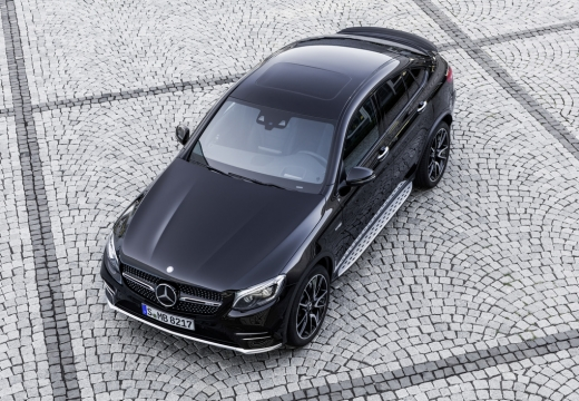Mercedes-Benz AMG GLC Coupe 43 4Matic 9G-TRONIC (2016-2016) Front + links