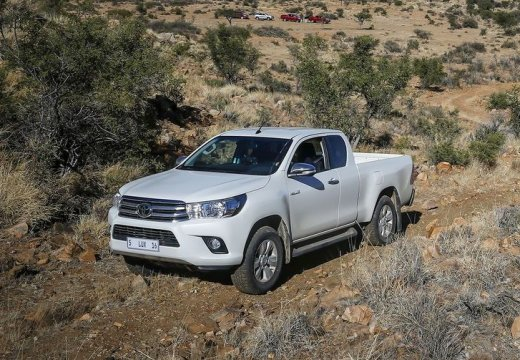 Toyota HiLux 4x2 Single Cab (2016-2016) Front + links