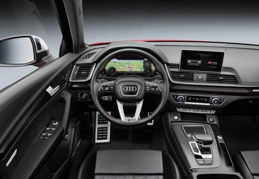 Audi SQ5 3.0 TFSI quattro tiptronic (2017-2017) Armaturenbrett