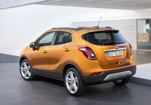Opel Mokka X 1.6 ecoFLEX Start/Stop (seit 2016) Heck + links