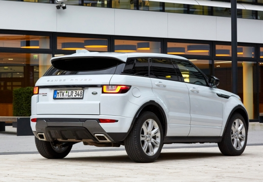 Land Rover Range Rover Evoque Si4 (seit 2015) Heck + rechts