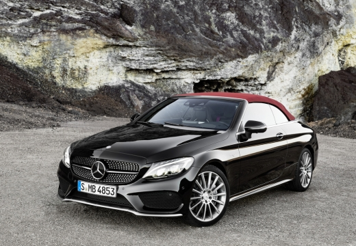 Mercedes-Benz C 180 Cabrio (seit 2016) Front + links