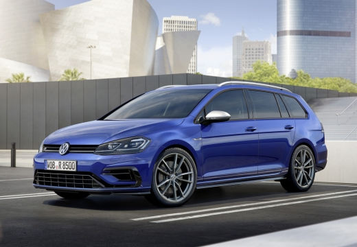 VW Golf Variant R 4Motion BlueMotion Technology DSG (2017-2017) Front + links