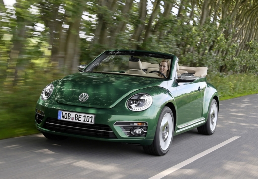 VW The Beetle Cabriolet 1.2 TSI BlueMotion Technology (seit 2016) Front + links